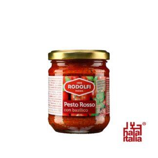 Rodolfi Pesto Rosso con Basilico, Red Pesto 190g
