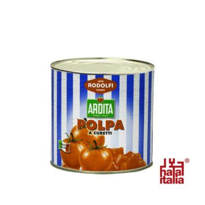 Rodolfi Polpa a Cubetti, chopped Tomatoes in Tomato Juice 3kg