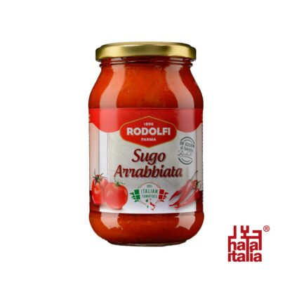 Rodolfi Sugo Arrabbiata, Spicy Tomato Sauce 400g