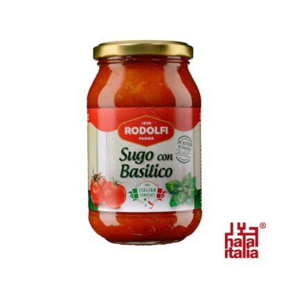 Rodolfi Sugo con Basilico, Tomato Sauce with Basil 400g