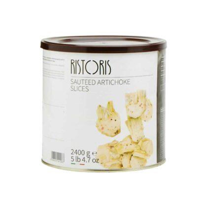 Ristoris Sauteed Artichoke Slices in Oil & Herbs 2400g