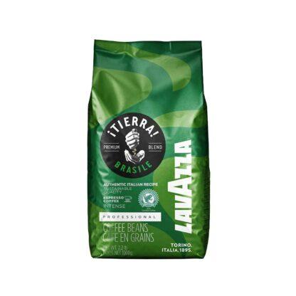 Lavazza Tierra Brasile Whole Beans Bag 1kg