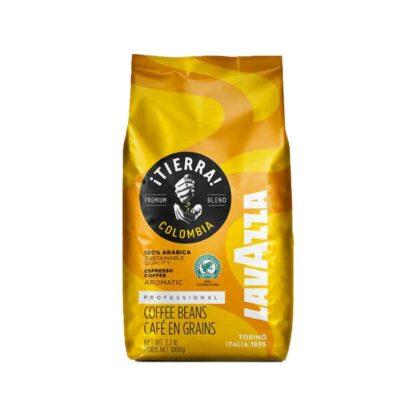 Lavazza Tierra Columbia Whole Beans Bag 1kg